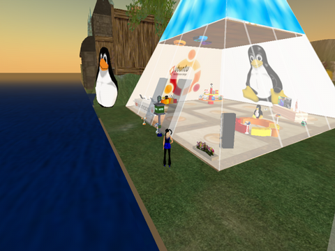 Ubuntu in Second Life