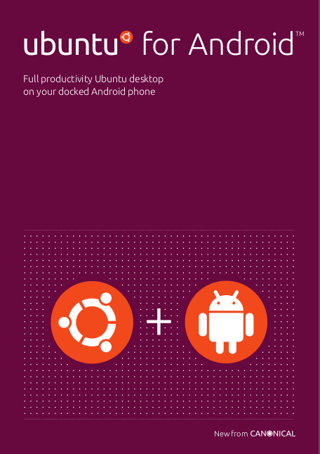 Cover for the Ubuntu for Android Fact Sheet